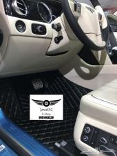 دعاسات جلد مطرزة - حماية وفخامة للسيارة