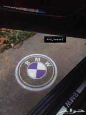 لمبات بروجكتر الابواب بشعار BMW جودة عالية 3D