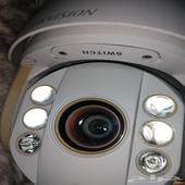 كاميرا مراقبة رؤية ليلة 360 درجة   تتبع PTZ