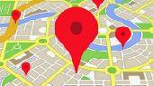 نشر المحلات والعقارات في قوقل ماب  Google
