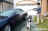 ماكينة ضغط عالي130بار لغسيل السيارات والأحواش