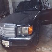 مرسيدس 1990 560 SEL فل ياباني
