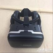 نظارة الواقع الإفتراضي للجوال وشاحن متنقل