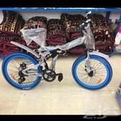 سيكل او دراجه رياضيه قابله للطي