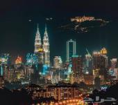 برنامج سياحي 11 يوم في ماليزيا عائلة 5 افراد