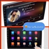 شاشة سيارات 10انش بضمان وكاميرا مجانا