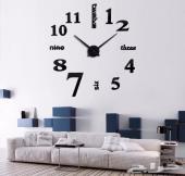 ساعات جدارية 3D ( تخفيض 15 بالمائة )