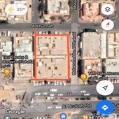 عمارتين للبيع على طريق العروبة على ثلاث شوارع
