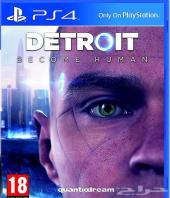 لعبة سوني 4 ديترويت Detroit