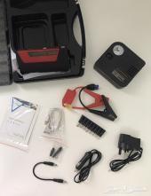 شنطة (بطارية متنقلة مع ماطور هواء ومنفذين USB