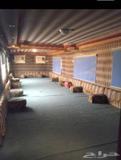 كرفان غرفة سحب 17 متر للبيع