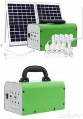 جهاز مولد الطاقة الشمسيه مع لوح 400ريال