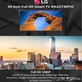 شاشة تلفيزيون ال جي 49 بوصة LG