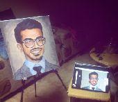 رسام لوحات زيتية شخصية باليد للاهداءات