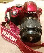 للبيع كاميرا احترافيه Nikon D3300