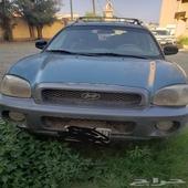 هونداي سنتافي 2002 بيع تشليح كامل السيارة