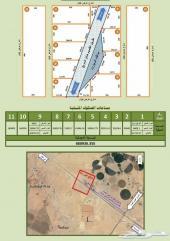 اراضي للبيع 35 ريال للمتر في محافظة العيون