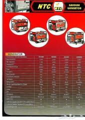 مولدات كهرباء NTC جميع الاحجام بأسعار ممتازة