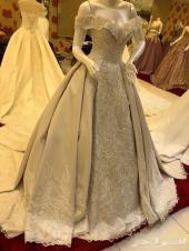 فستان شبكة للبيع وينفع فستان زواج