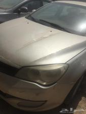 للبيع سيارة MG 350 تشليح او استخدام 2013