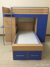 سرير أطفال دورين مكتب منتجات هوم سنتر
