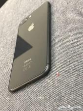 ايفون 8 بلس 64 جيجا - اسود لامع بدون خدش