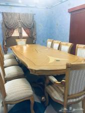 اثاث مستعمل فاخر طاولة طعام-كنب-مجلس-غرف نوم