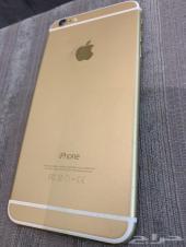 للبيع ايفون 6 بلس ذهبي