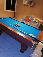 طاولة بلياردو خشب