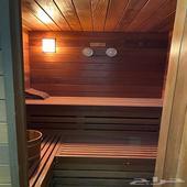 حمام ساونا خشبي