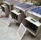 مكيف صحراوي على الطاقة الشمسية  ربع