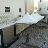 مظلات سواتر هناقر برجولات