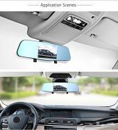 كاميرا ثلاثية لسيارتك (أماميه وخلفيه ومرايا)