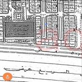 ارض ضاحية الجبيل شارع شبه مردوم