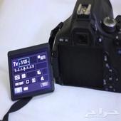 كاميرا كانون d650 مع عدسة عزل