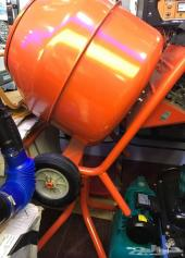 خلاط الاسمنت يعمل على بنزين ممتازه و عملي