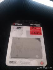للبيع هارد SSD مساحه 240 جيجا ماركه KINGSTON
