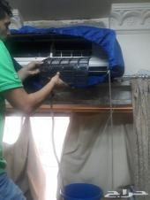 شركة تنظيف مكيفات مجالس خزانات فلل رش مبيدات