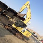 بوكلين كوماتسو 200 معرض رواد المعدات الثقيله