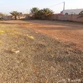 ارض بصك في الحويه حي رحاب خلف مصنع الحناكي .