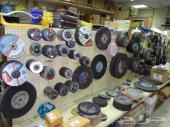 عجلات القطع و ملحقاتها