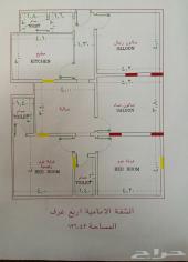 شقه للبيع 4غرف اماميه ومدخلين ب260 الف تمليك
