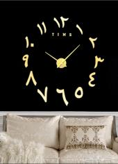ساعة حائط 3D حجم كبير بسعر 80 ريال فقط