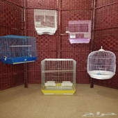 5 bird cages for sale