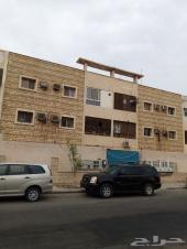 عمارة للبيع بحي المشرفه ع شارعين 880 متر