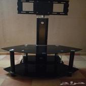 طاولة تلفزيون مع حامل الشاشة