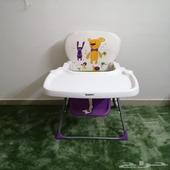 كرسي مع طاوله أطفال ماركه جينيور