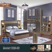 غرف نوم مودرن و جديدة بدواليب كبيرة
