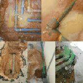 كشف تسربات المياه الكترونيا عزل اسطح وخزنات