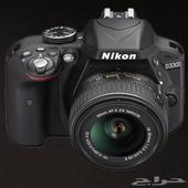 كاميرا نيكون 3300 d